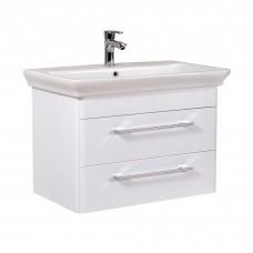 Мебель Аква Родос для ванной комнаты Паола 80  консольная в комплекте с умывальником Arica 80