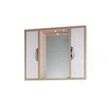 Зеркало Vod-ok Габи 100 см Белое-К/Дуб-Ф