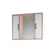 Зеркало Vod-ok Габи 120 см Белое-К/Дуб-Ф