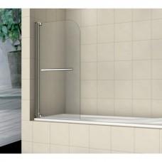 Шторка на ванну распашная с ручкой Royal Glass of Water RGW SC-02 серия Screen 100х150 см стекло прозрачное (Easy Clean)