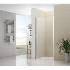 Душевая дверь распашная Royal Glass of Water RGW-1307 90x195 см прозрачное стекло easy cleaning