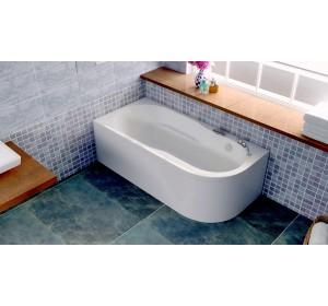 Акриловая ванна Bellsan Амира 1500*800*600 R с гидромассажем
