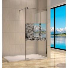 Душевая перегородка Royal Glass of Water RGW WA-01 серия Walk In 100x190 см прозрачное стекло