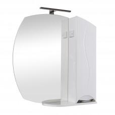 Глория Аква Родос Зеркало 75(P) для ванной комнаты 754*820*170 в комплекте с подсветкой ANDREA/Omega LED