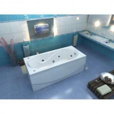 Акриловая ванна Bas Бриз 150x75 с гидромассажем (Flat Brass)