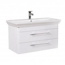 Мебель Аква Родос для ванной комнаты Паола 100  консольная в комплекте с умывальником Arica 100