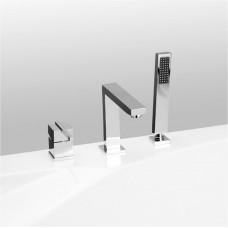 Смеситель Vega Quadro Lux на борт ванны (3 эл.)