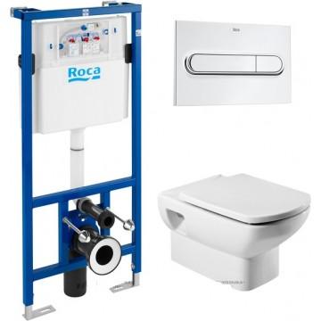 Инсталляция Roca в комплекте с унитазом Roca Dama Senso 346517000