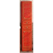 Пенал Misty Fresko 35 R с 2-мя ящиками красный патина