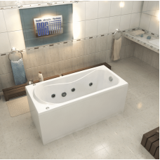 Акриловая ванна Bas Верона 150x70 с гидромассажем