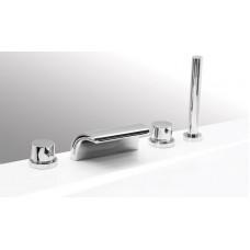 Смеситель Vega Onda Lux на борт ванны, 4 элемента