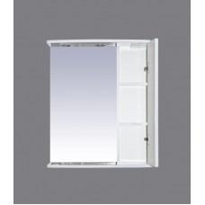 Зеркало Misty Астра 55 зеркало-шкаф R свет