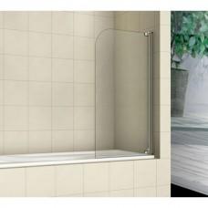 Шторка на ванну распашная Royal Glass of Water RGW SC-01 серия Screen 100х150 см стекло прозрачное (Easy Clean)