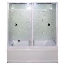 Душевая кабина Erlit ER SYD 150W-2 (148*82*220 см.) прозрачное стекло с узором