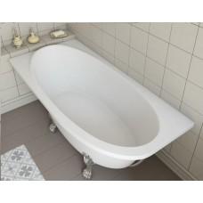 Ванна из литьевого мрамора Эстет Венеция L 1700*800 белая без гидромассажа
