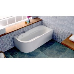 Акриловая ванна Bellsan Амира 1500*800*600 L с гидромассажем