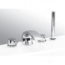 Смеситель Vega Arco Lux на борт ванны (4 эл.)