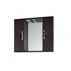 Зеркало Vod-ok Габи 120 см Белое-К/Венге-Ф