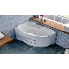 Акриловая ванна Bellsan Индиго 1680*1100*715 R с гидромассажем, без ручек