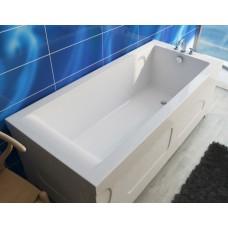 Ванна из литьевого мрамора Эстет Дельта 150x75 белая без гидромассажа