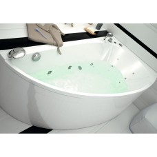 Акриловая ванна Aquanet Augusta R 170х90 без гидромассажа