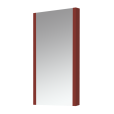 Зеркало Misty Мини -40 Зеркало-шкаф красное